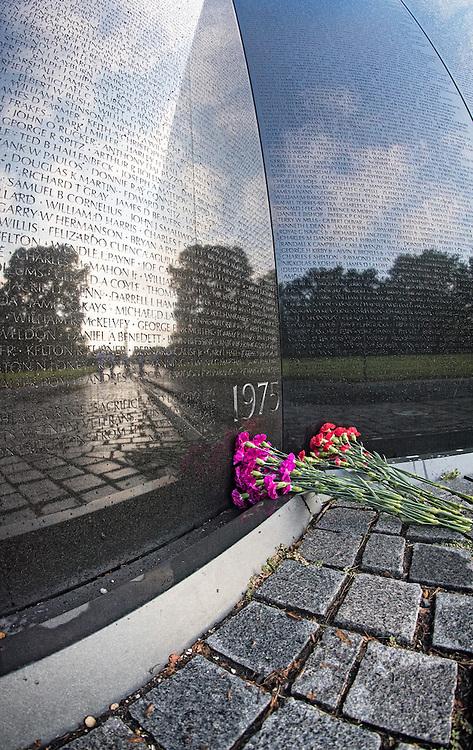 Vietnam War Memorial detail