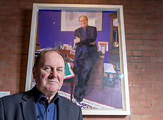 James Naughtie Portratit unveiled, Edinburgh, 11 April 2018