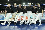 Officials<br /> <br /> Copenhagen 16-12-2017 Royal Arena <br /> LEN European Short Course Swimming <br /> Championships - Campionati Europei nuoto vasca corta<br /> Foto &copy; Giorgio Scala / Deepbluemedia