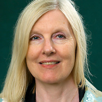 EDINBURGH, SCOTLAND - AUGUST18. Author Helen Dunmore poses during a portrait session held at Edinburgh Book Festival on August 18, 2006  in Edinburgh, Scotland. (Photo by Marco Secchi/Getty Images).
