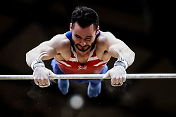 October 29, 2018 - Doha, Qatar - Brinn Bevan of  Great Britain   during  High Bar, Team final for Men at the Aspire Dome in Doha, Qatar, Artistic FIG Gymnastics World Championships on October 29, 2018. (Credit Image: © Ulrik Pedersen/NurPhoto via ZUMA Press)