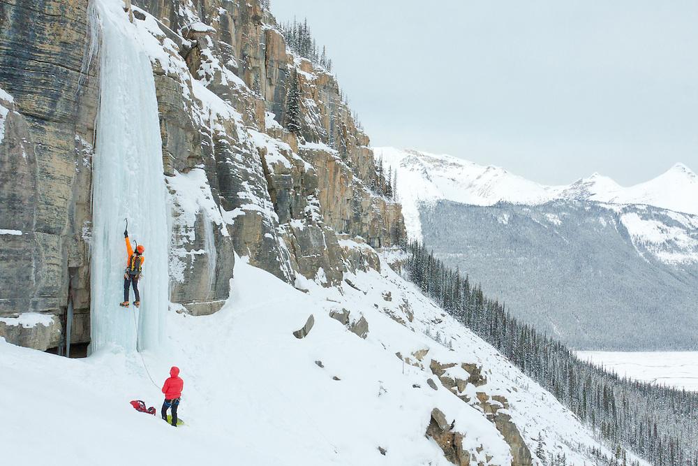 Ice Climbing Shades of Beauty - Alberta