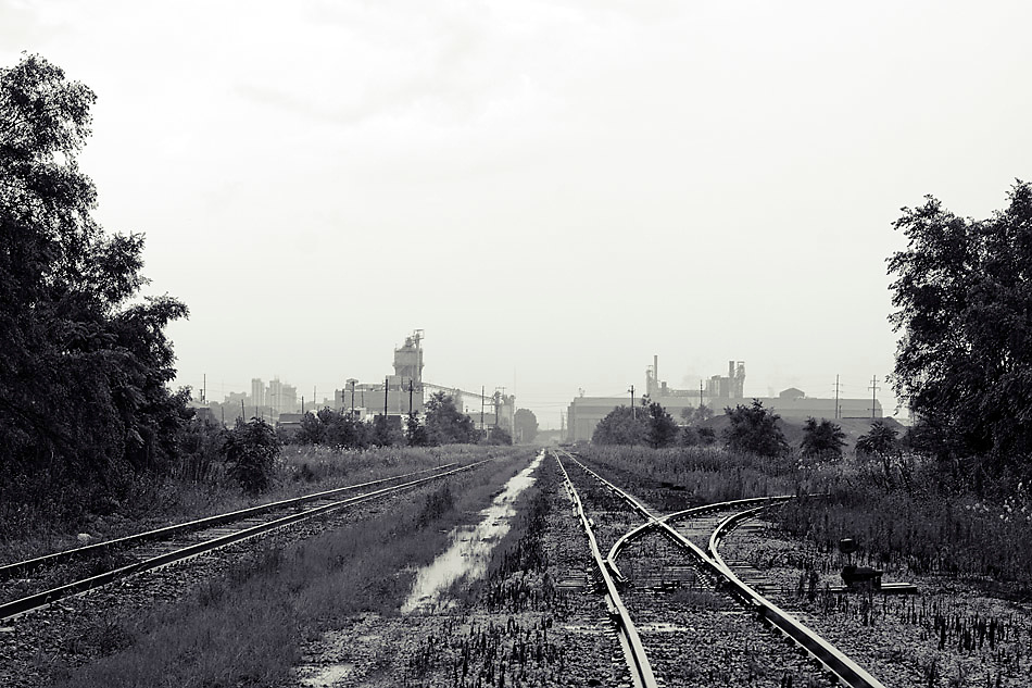 Railroad and Industry, Peoria, IL.