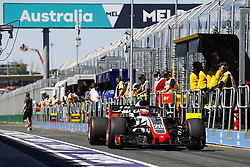 March 23, 2018 - Melbourne, Victoria, Australia - MAGNUSSEN Kevin (dnk), Haas F1 Team VF-18 Ferrari, action during 2018 Formula 1 championship at Melbourne, Australian Grand Prix, from March 22 To 25 - Photo  Motorsports: FIA Formula One World Championship 2018, Melbourne, Victoria : Motorsports: Formula 1 2018 Rolex  Australian Grand Prix,    , #20 Kevin Magnussen (DEN, Haas F1 Team) (Credit Image: © Hoch Zwei via ZUMA Wire)