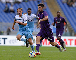 October 7, 2018 - Rome, Italy - Marco Benassi during the Italian Serie A football match between S.S. Lazio and Fiorentina at the Olympic Stadium in Rome, on october 07, 2018. (Credit Image: © Silvia Lore/NurPhoto/ZUMA Press)