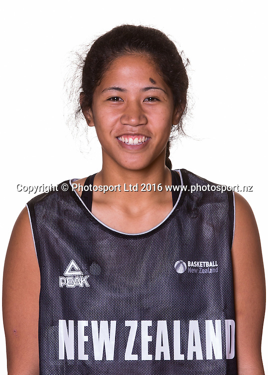 New Zealand 3x3 Basketball headshots session. Sunday 22 May 2016 at St Peters School, Cambridge, New Zealand. <br /> <br /> Copyright Photo: Bruce Lim / www.photosport.nz