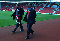 New Southampton Manager Harry Redknapp with chairman Rupert Lowe at the St.Mary's ground, 8/12/2004. Credit Back Page Images / Matthew Impey