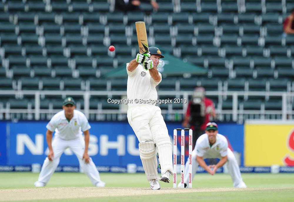 Ricky Ponting of Australia, Cricket - 2011 Sunfoil Test Series - South Africa v Australia - Day 5 - Wanderers Stadium<br /> &copy;Chris Ricco/Backpagepix