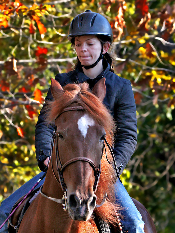 "I think the horse is called ""Dave"". This is first of a five part mini-series on a warm late fall day in 2006."