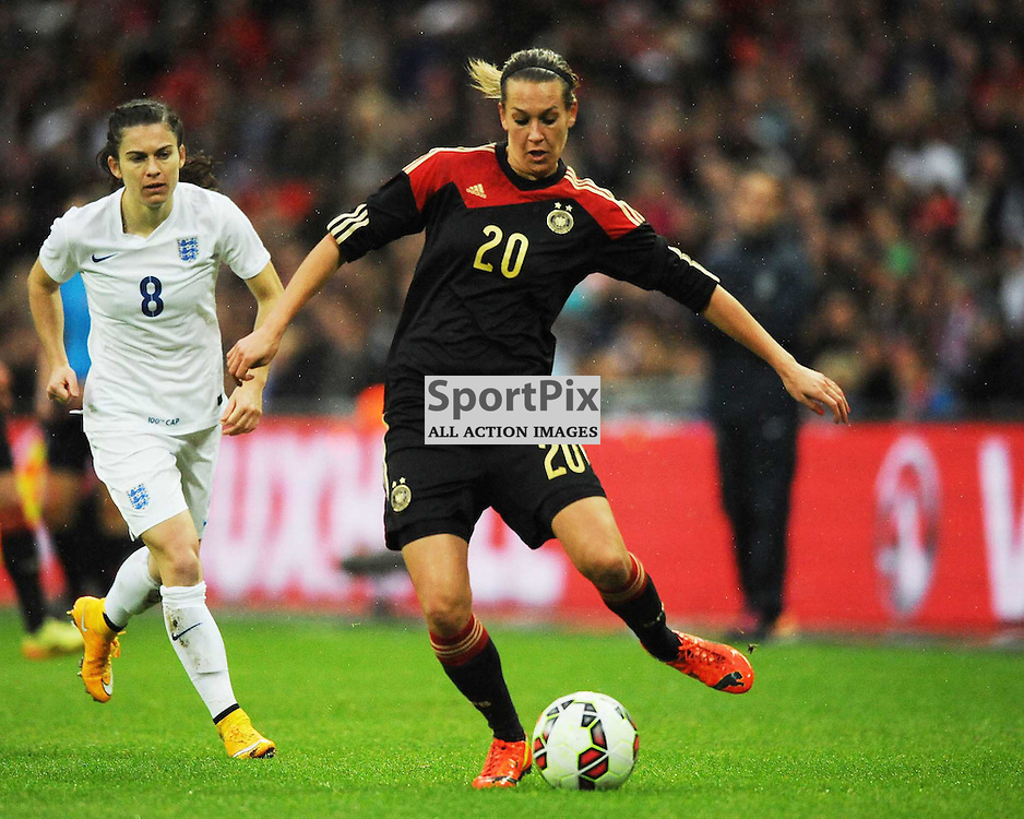 Lena Goebling, Germany, England v Germany Ladies, Breast Cancer Care International, Wembley , Sunday 23rd November 2014