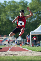 , , Long Jump, T46, 2013 IPC Athletics World Championships, Lyon, France
