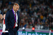 England head coach Eddie Jones during the medals ceremony at the World Cup Japan 2019, Final rugby union match between England and South Africa on November 2, 2019 at International Stadium Yokohama in Yokohama, Japan - Photo Yuya Nagase / Photo Kishimoto / ProSportsImages / DPPI