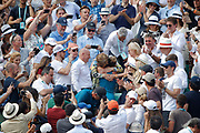 Simona HALEP (ROU) won the women tournament, celebration in stands in arms of it mother during the Roland Garros French Tennis Open 2018, Final Women, on June 9, 2018, at the Roland Garros Stadium in Paris, France - Photo Stephane Allaman / ProSportsImages / DPPI