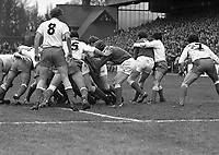 Ireland V France in the 5 Nations at Lansdowne Road, Dublin, 07/02/1981 (Part of the Independent Newspapers Ireland/NLI Collection).