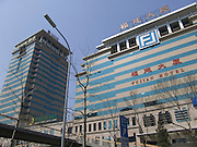 new hotel and office high rise Beijing China