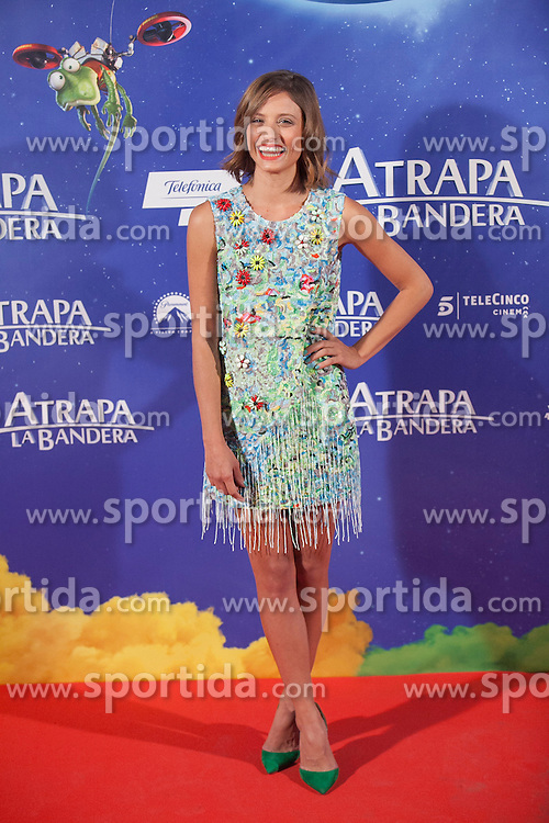 26.08.2015, Kinepolis Cinema, Madrid, ESP, Atrapa la Bandera, Premiere, im Bild Actress Michelle Jenner poses // during the premiere of spanish cartoon 'Capture The Flag&quot; at the Kinepolis Cinema in Madrid, Spain on 2015/08/26. EXPA Pictures &copy; 2015, PhotoCredit: EXPA/ Alterphotos/ Victor Blanco<br /> <br /> *****ATTENTION - OUT of ESP, SUI*****