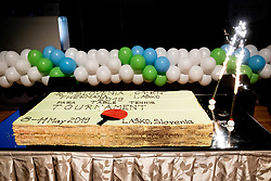 Cake during Closing ceremony at Day 4 of 16th Slovenia Open - Thermana Lasko 2019 Table Tennis for the Disabled, on May 11, 2019, in Thermana Lasko, Lasko, Slovenia. Photo by Vid Ponikvar / Sportida