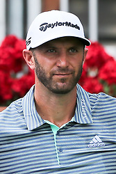 September 20, 2018 - Atlanta, Georgia, United States - Dustin Johnson waits on the first tee during the first round of the 2018 TOUR Championship. (Credit Image: © Debby Wong/ZUMA Wire)