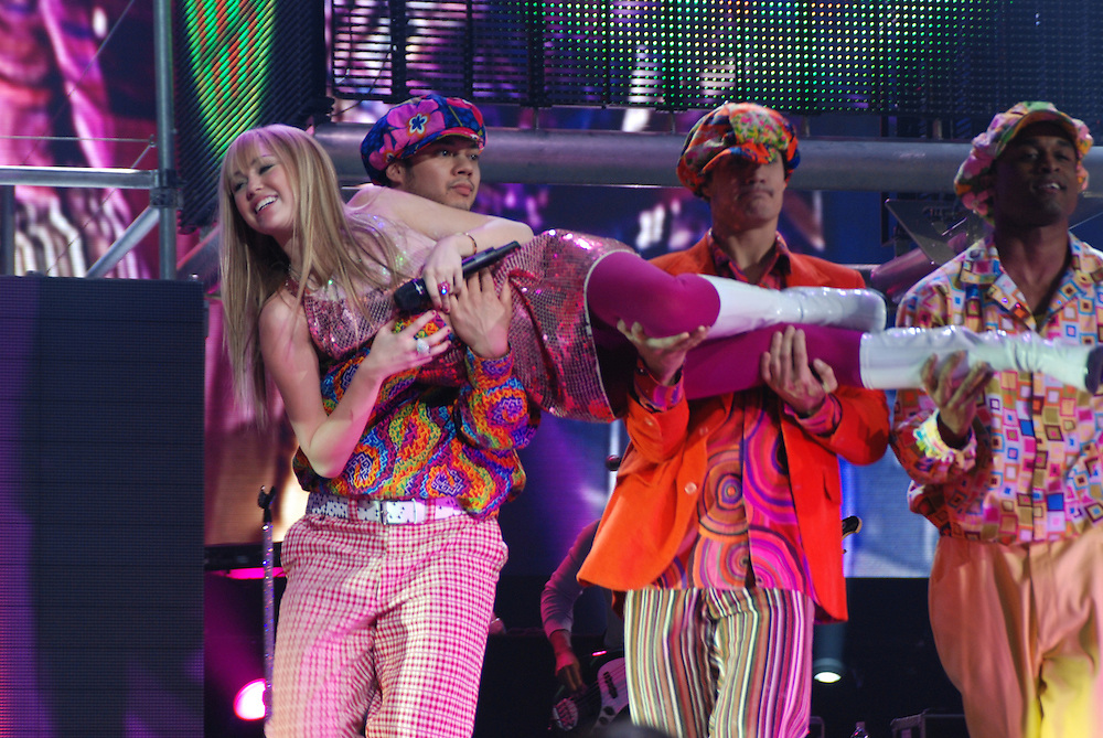 Hannah Montana in concert, December 19, 2007, Hartford Civic Center