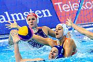 22-01-2016: waterpolo: Nederland v Hongarije: Belgrado<br /> <br /> Goalkeeper AARTS Laura of team Netherlands<br /> <br /> Women final waterpolomatch between team The Netherlands vs Hungary during the 32nd LEN European Championships in Belgrade<br /> <br /> Foto: Gertjan Kooij