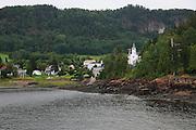 Saint-Rose-du-Nord,Saguenay Fiord,Quebec,Canada