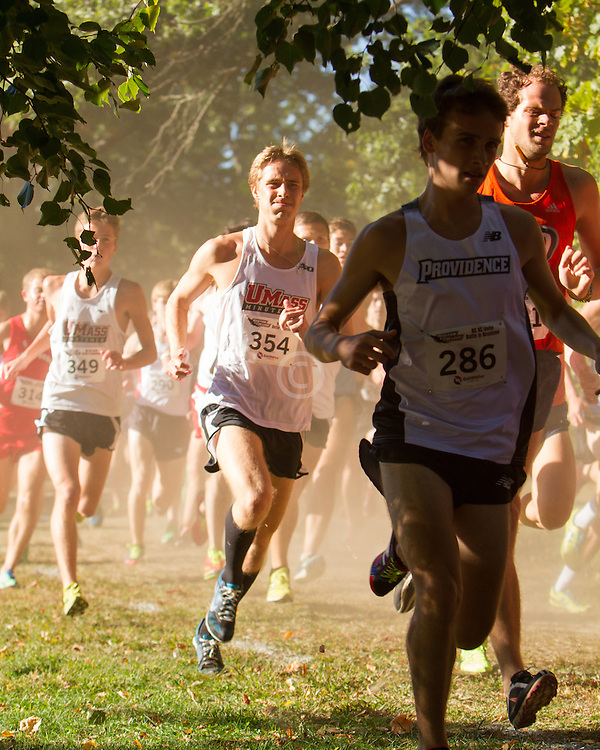 Boston College Invitational Cross Country race at Franklin Park; Antony Taylor, U Mass Amherst