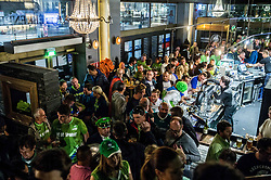 Fans' reception of Team Slovenia after the basketball match between National Teams of Slovenia and Greece at Day 4 of the FIBA EuroBasket 2017  in Teerenpeli bar, Helsinki, Finland on September 3, 2017. Photo by Vid Ponikvar / Sportida