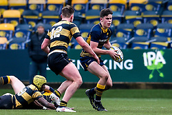 Seb Atkinson of Worcester Warriors U18 - Mandatory by-line: Robbie Stephenson/JMP - 28/12/2019 - RUGBY - Sixways Stadium - Worcester, England - Worcester Warriors U18 v Wasps U18 - Premiership U18 Academy