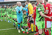 Mascot during the EFL Sky Bet League 2 match between Forest Green Rovers and Walsall at the New Lawn, Forest Green, United Kingdom on 8 February 2020.