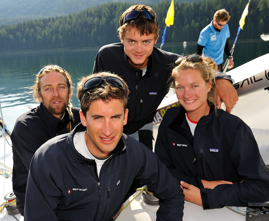 Team CER, Skipper Jerome Clerc, Denis Girardet, Bryan Mettraux, Elodie Mettraux. Photo: Chris Davies/WMRT
