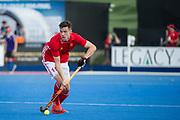 Phil Roper. England v Argentina - Hockey World League Semi Final, Lee Valley Hockey and Tennis Centre, London, United Kingdom on 18 June 2017. Photo: Simon Parker