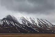wall of mountains, Svalbard