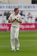 Rikki Clarke (Warwickshire County Cricket Club) during the LV County Championship Div 1 match between Durham County Cricket Club and Warwickshire County Cricket Club at the Emirates Durham ICG Ground, Chester-le-Street, United Kingdom on 14 July 2015. Photo by George Ledger.