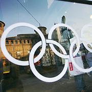 Torino ha ospitato i XX Giochi Olimpici Invernali 10-26 Febbraio 2006  piazza Castello