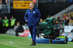 Cardiff City manager Neil Warnock gives from the side line- Mandatory by-line: Nizaam Jones/JMP - 02/03/2019 - FOOTBALL - Molineux - Wolverhampton, England -  Wolverhampton Wanderers v Cardiff City - Premier League