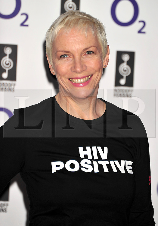 © licensed to London News Pictures. LONDON UK  01/07/11.Annie Lennox  attends the 2011 Silver Clef Awards held at the Hilton Park Lane in London. Please see special instructions for usage rates. Photo credit should read ALAN ROXBOROUGH/LNP