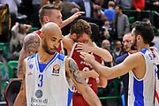 DESCRIZIONE : Eurolega Euroleague 2015/16 Group D Dinamo Banco di Sardegna Sassari - Brose Basket Bamberg<br /> GIOCATORE : Nicolo' Melli Nikos Zisis<br /> CATEGORIA : Ritratto Esultanza Postgame<br /> SQUADRA : Brose Basket Bamberg<br /> EVENTO : Eurolega Euroleague 2015/2016<br /> GARA : Dinamo Banco di Sardegna Sassari - Brose Basket Bamberg<br /> DATA : 13/11/2015<br /> SPORT : Pallacanestro <br /> AUTORE : Agenzia Ciamillo-Castoria/C.Atzori