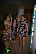 Patsy Palmer, Charlotte Cutler and Lorraine Stewart . Rushes Soho Shorts Awards evening. 23 Coventry St. London. 4 August 2005. ONE TIME USE ONLY - DO NOT ARCHIVE  © Copyright Photograph by Dafydd Jones 66 Stockwell Park Rd. London SW9 0DA Tel 020 7733 0108 www.dafjones.com