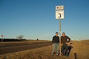 James Pratt and Nathan Gunter for Oklahoma Today story on Highway 3