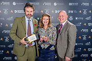 Scottish Border of Chamber Border Busines awards, 2017, held at Springwood Hall.<br /> <br /> Duns Castle Estate, winners of the 'Tourism & Hospitality Business of the Year'.  Sponsored by Bruce Stevenson Insurance.