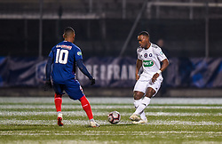 January 5, 2019 - Saint Ouen, France - Harouna Sy ( Red Star FC ) - Claudio Beauvue  (Credit Image: © Panoramic via ZUMA Press)