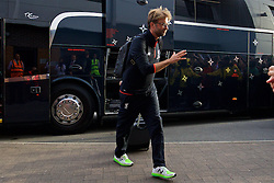 BURTON-UPON-TRENT, ENGLAND - Tuesday, August 23, 2016: Liverpool's manager Jürgen Klopp arrives ahead of the Football League Cup 2nd Round match against Burton Albion at the Pirelli Stadium. (Pic by David Rawcliffe/Propaganda)
