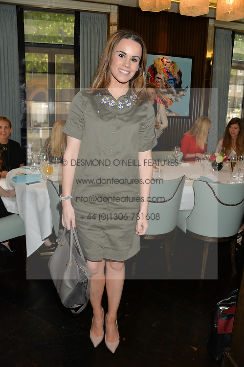 RACHEL KAVANAGH at the 'Ladies of Influence Lunch' held at Marcus, The Berkeley Hotel, London on 12th May 2014.