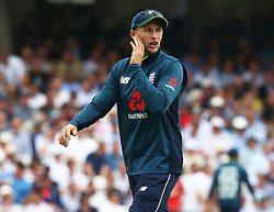 June 13, 2018 - London, England, United Kingdom - England's Joe Root .during One Day International Series match between England and Australia at Kia Oval Ground, London, England on 13 June 2018. (Credit Image: © Kieran Galvin/NurPhoto via ZUMA Press)