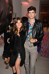 Jazzy de Lisser and Max Hurd at the Tatler's English Roses 2017 party in association with Michael Kors held at the Saatchi Gallery, London England. 29 June 2017.<br /> Photo by Dominic O'Neill/SilverHub 0203 174 1069 sales@silverhubmedia.com