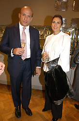 DIAMANTIS & MARIA LEMOS at a private view of the forthcoming sale 'From the Collection of King George 1 of The Hellenes', held at Christie's. King Street, London on 22nd January 2007.<br /><br />NON EXCLUSIVE - WORLD RIGHTS