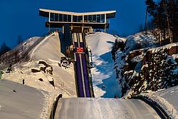 17.03.2018, Vikersundbakken, Vikersund, NOR, FIS Weltcup Ski Sprung, Raw Air, Vikersund, Team, im Bild Markus Eisenbichler (GER) // Markus Eisenbichler of Germany during Team Competition of the 4th Stage of the Raw Air Series of FIS Ski Jumping World Cup at the Vikersundbakken in Vikersund, Norway on 2018/03/17. EXPA Pictures © 2018, PhotoCredit: EXPA/ JFK