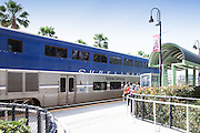 Surfliner Amtrak Station in Anaheim