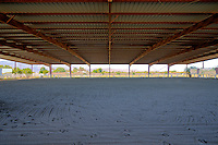 Covered Horse training area