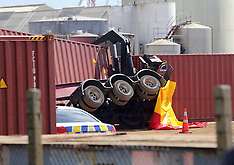 Tauranga-Man crushed by container at Mt Maunganui
